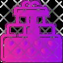 Valentine Day Gift Box Heart Icon