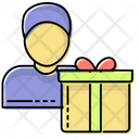 Gifts Peoples Salesman Icon