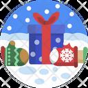 Christmas Gifts Gift Box Icon