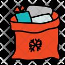 Santa Claus Sack Icon