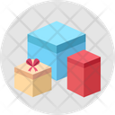 Gifts Box Birthday Icon