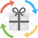 Gifts Delivery Process Icon
