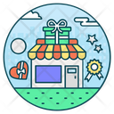 Gifts Shop Icon
