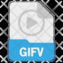 File Gifv Format Icon