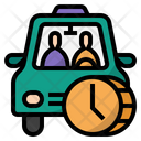 Gig Economy Second Job Taxi Icon
