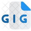 Gig File Icon