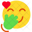 Giggle With Heart Icon