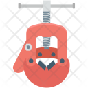 Gimlet Auger Construction Icon