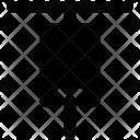 Gimlet Machine Hand Icon