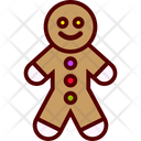 Ginger Man Cookie Icon