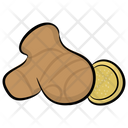 Ginger Spice Food Icon