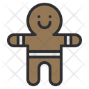 Ginger Bread Gingernread Cookie Icon