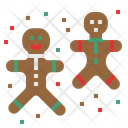 Ginger Bread Cookie Bread Icon