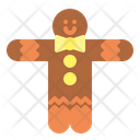 Ginger Bread Christmas Xmas Icon