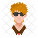 Ginger Guy Icon