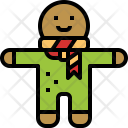 Candy Cookie Gingerbread Icon