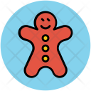 Gingerbread Ginger Man Icon