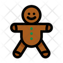 Ginger Bread Bread Christmas Icon