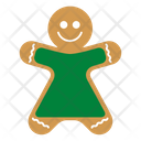 Gingerbread woman Icon