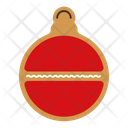 Gingerbread bauble Icon