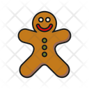 Gingerbread Pastry Sweets Icon