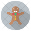 Christmas Gingerbread Gingerbread Man Icon