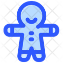 Gingerbread Christmas Cookies Icon