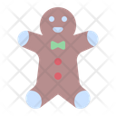 Gingerbread Cookie Sweet Icon
