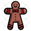 Gingerbread Christmas Xmas Icon