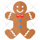 Gingerbread Cookie Food Icon