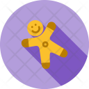 Gingerbread Toffee Candy Icon