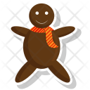 Food Gingerbread Holidays Icon