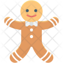 Gingerbread Santaclaus Candy Icon
