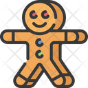 Gingerbread Cookie Icon