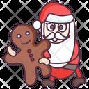 Santa Claus Christmas Christmas Food Icon