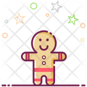 Gingerbread Man Icon