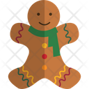 Gingerbread Man Gingerbread Cookie Icon