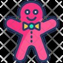 Gingerbread Men Icon