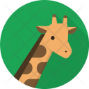Giraffe Animal Herbivores Icon
