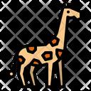 Giraffe Animal Zoo Icon