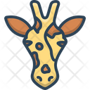 Giraffe Giraffa Zoo Icon