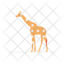 Giraffe Animal Circus Icon