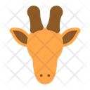 Giraffe Africa Animal Icon