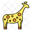 Giraffe Animal Zoo Icon