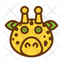 Giraffe Cute Baby Icon