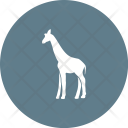 Giraffe Animal Wildlife Icon