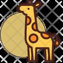 Giraffe Pet Animal Icon