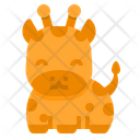 Giraffe Wild Zoo Icon