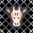 Giraffe Africa Mammal Icon