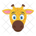 Giraffe Camelopard Animal Icon